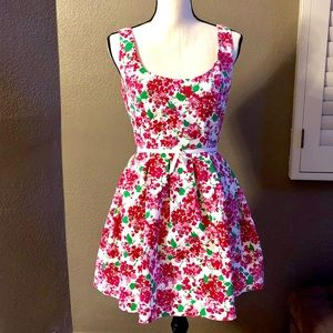 Floral retro dress
